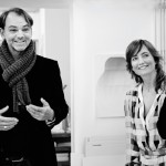 BMW Group design director Adrian van Hooydonk with Carole Baijings of Scholten & Baijings