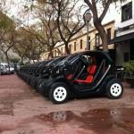Renault Twizys doorless