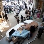 Jaguar C-X16 concept car clay mode in the Farmiloe building. Photo credit Ashley Bingham