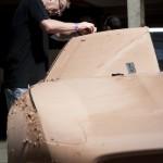 Jaguar C-X16 concept car clay mode. Photo credit Ashley Bingham