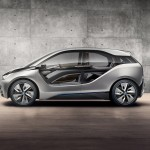 BMW i3 concept car which will be in production in 2013