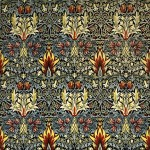 William Morris, Snakeshead printed cotton, 1876 © William Morris Gallery