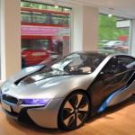 BMW i Park Lane showroom and the i8