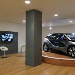 BMW i Park Lane showroom