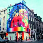 The Beatles Apple Boutique on the corner of Paddington Street and Baker Street, 1967. Copyright Rex Features