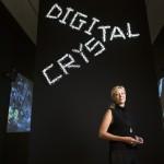 Digital Crystal Swarovski at the Design Museum (Nadja Swarovski), image courtesy of David Levene