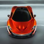 McLaren P1 at the Paris Motor Show 2012