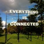 Peter Liversidge, Everyting is Connected 2012, Ingleby Gallery Frieze London 2012