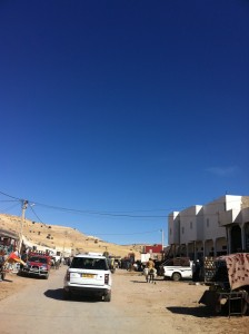New Range Rover driving through north Morocco