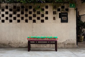Gu Yeli, Bench 2, 2012. Courtesy of Themes & Variations