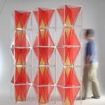 Jia Li, Memory Stool Screen, 2012. Courtesy of Themes & Variations