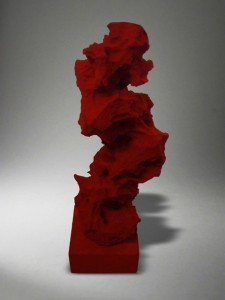 Su Wentao, Specious Series - Red Rockby, 2012, Hand-cut sponge, Courtesy of Themes & Variations, London