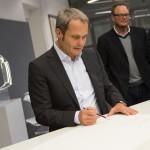 Wolfgang Egger head of Audi Design