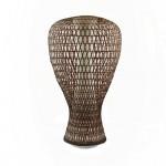 Sozen Basket Vase white