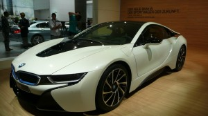 BMW i8 production car