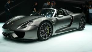 Porsche 918 Spyder production car
