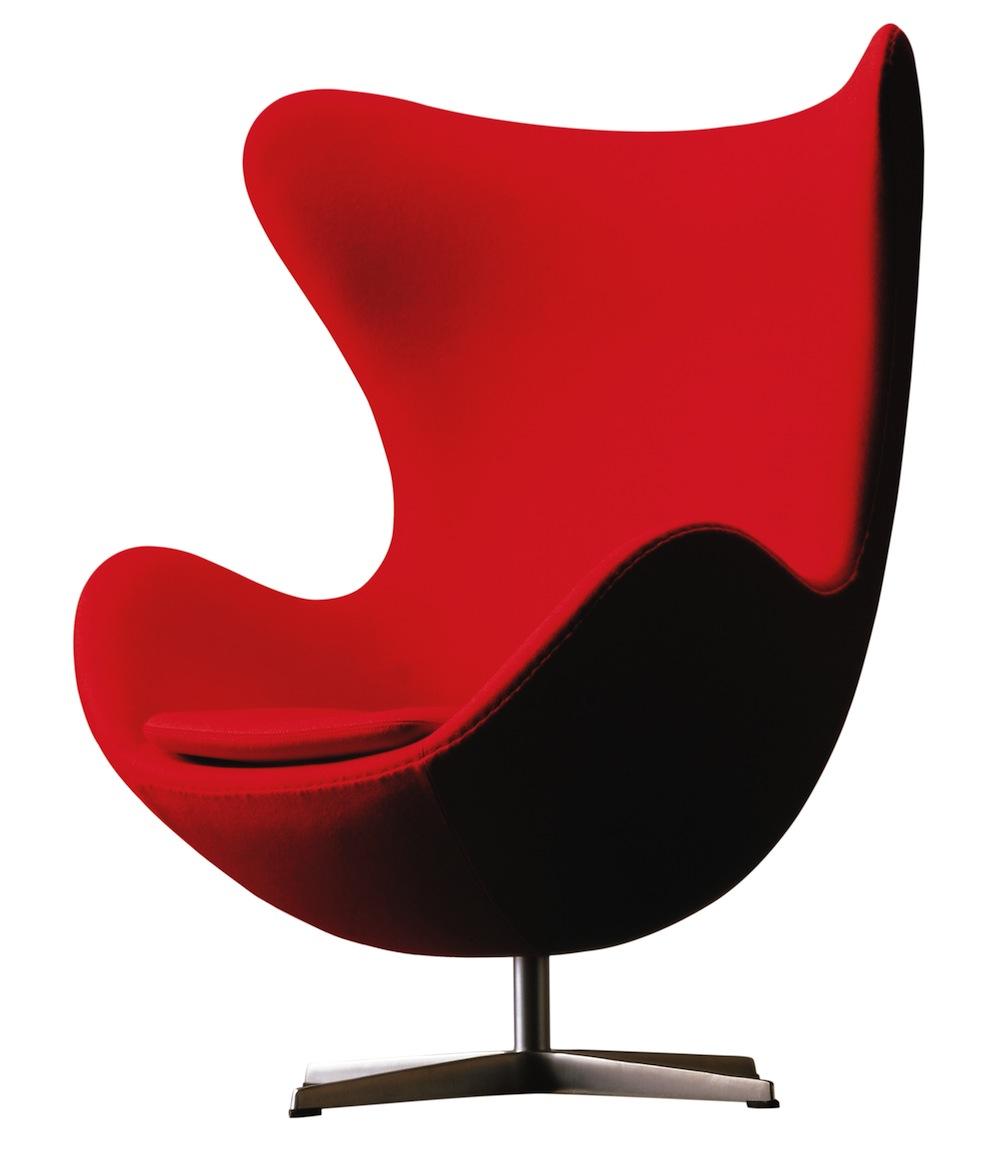 Egg Chair (1957), Arne Jacobsen (1921–71), Fritz Hansen, 1958 to present, picture credit Fritz Hansen