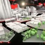 Audi Urban Future city model