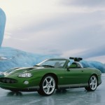 The Jaguar XKR on location in Iceland. © 2002 Danjaq, LLC and United Artists Corporation. All rights reserved.