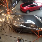 Jaguar and Foscarini installation