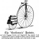 A highwheeler with track-mounted rear panniers. Copywrite MIT Press