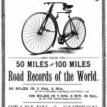 Advert for the second-generation Rover of 1885