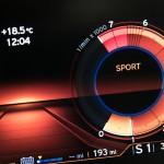 BMW i8 in sport mode
