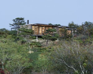 Hatch House viewed from kettle hole - Photo credit Cape Cod Modern