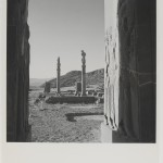 View of ruins at the palace of Persepolis, 1949 © Conde Nast, Horst Estate