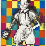 Jim Dine, 64 Blocks, 2009, lithograph paper, courtesy of the artist and Alan Cristea Gallery 10 September – 7 October 2014, alancristea.com
