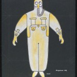Costume design for Bedbug by Alexander Rodchenko, 1929 © A. A. Bakhrushin State Central Theatre Museum
