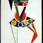 Costume design for We by Alexander Rodchenko, 1919-1920 © A. A. Bakhrushin State Central Theatre Museum