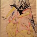 Liubov Papova (1889-1924) costume for Romeo and Juliet 1920 unrealised © A. A. Bakhrushin State Central Theatre Museum