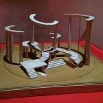 Set model for Lysistrata (1923) by Isaak Rabinovich © A. A. Bakhrushin State Central Theatre Museum