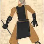 Tatiana Bruni, Factory Worker, Costume Design for 'The Bolt', 1931, Courtesy GRAD and St Petersburg Museum of Theatre and Music