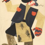 Tatiana Bruni ,The Carter, Costume Design for 'The Bolt', 1931, Courtesy GRAD and St Petersburg Museum of Theatre and Music
