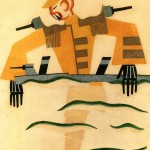 Tatiana Bruni, The Japanese Marine, Costume Design for 'The Bolt', 1931, Courtesy GRAD and St Petersburg Museum of Theatre and Music