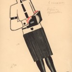 Tatiana Bruni, The Typist, Costume Design for 'The Bolt', 1931 Courtesy GRAD and St Petersburg Museum of Theatre and Music