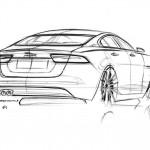 Sketch of the Jaguar XE
