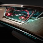 Audi Prologue, sketch of the digital dashboard