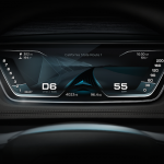 Audi Prologue Concept Car digital dashboard