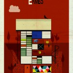 E is for Charles and Ray Eames ©Laurence King Publishing