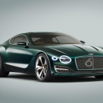 New interpretation of the grille on Bentley Speed Six Coupé concept