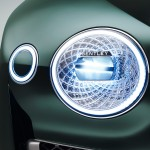 Taking the headlights out of their frame on the Bentley EXP 10 Speed 6 concept