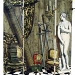 Paravent Angolo Antico con Eva copia © Piero Fornasetti, Practical Madness