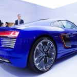 Audi piloted R8 e-tron concept car