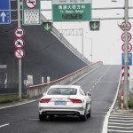 Audi A7 Sportback piloted driving Shanghai