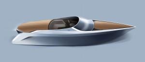 Aston Martin Quintessence Yachts AM37 Speedboat copen interior
