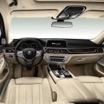 Digital instrument panel, 2015 BMW 7 Series