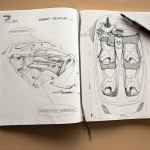 BMW 7 Series sketches